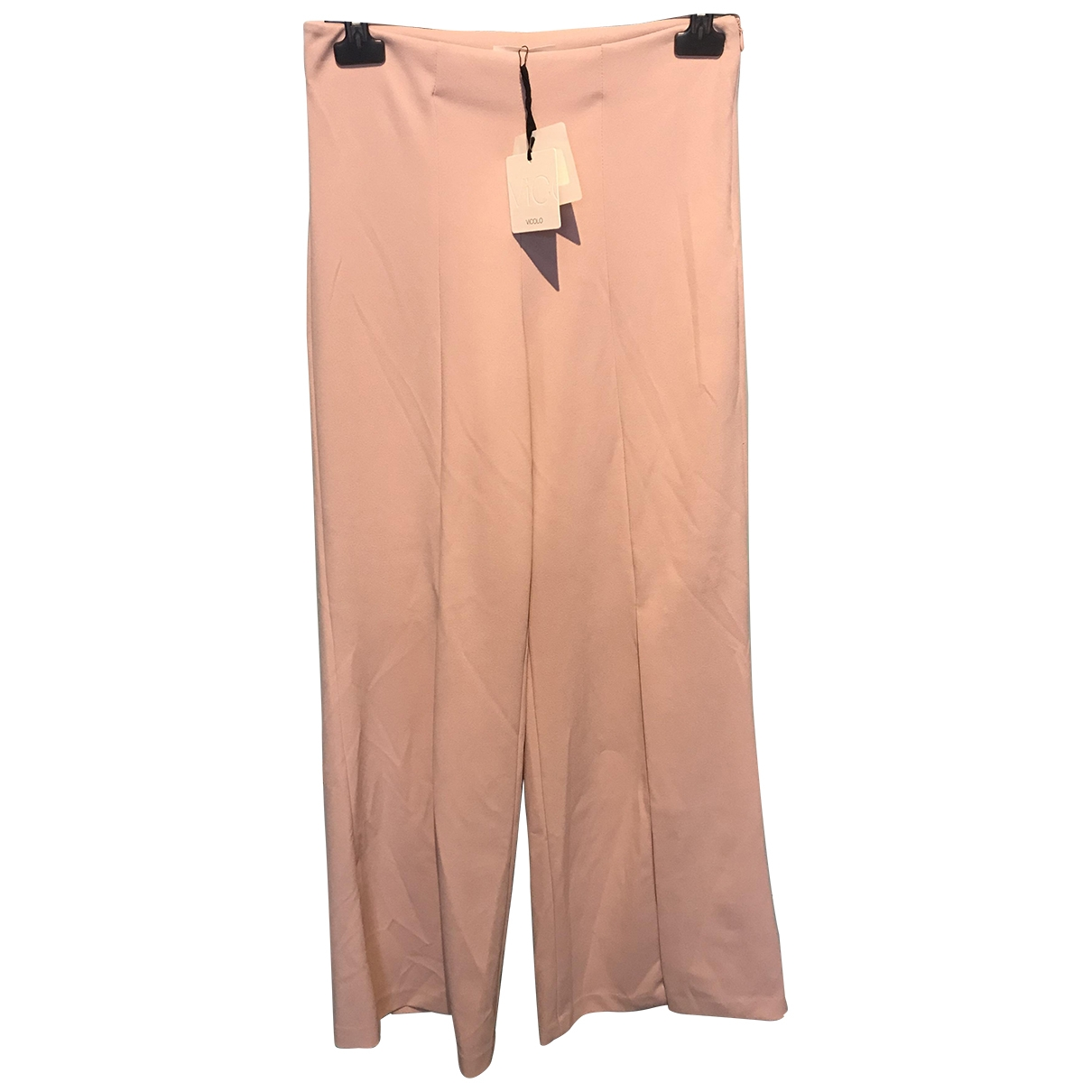 Vicolo \N Pink Trousers for Women M International