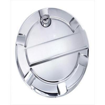 AMI Billet Fuel Doors (Polished Aluminum) - 6059PL