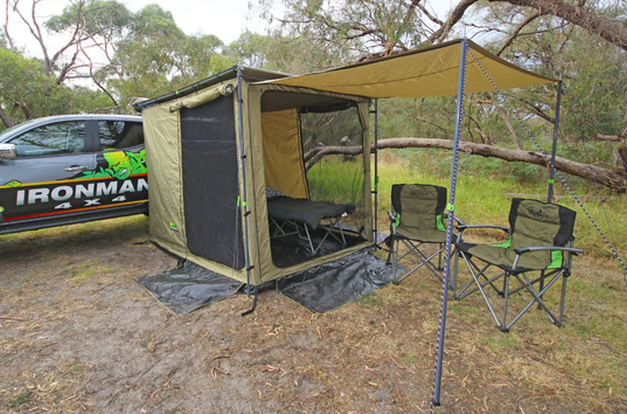 Ironman 4x4 IAWNING2MROOM Awning Room And Net (Suits 2M Awning)