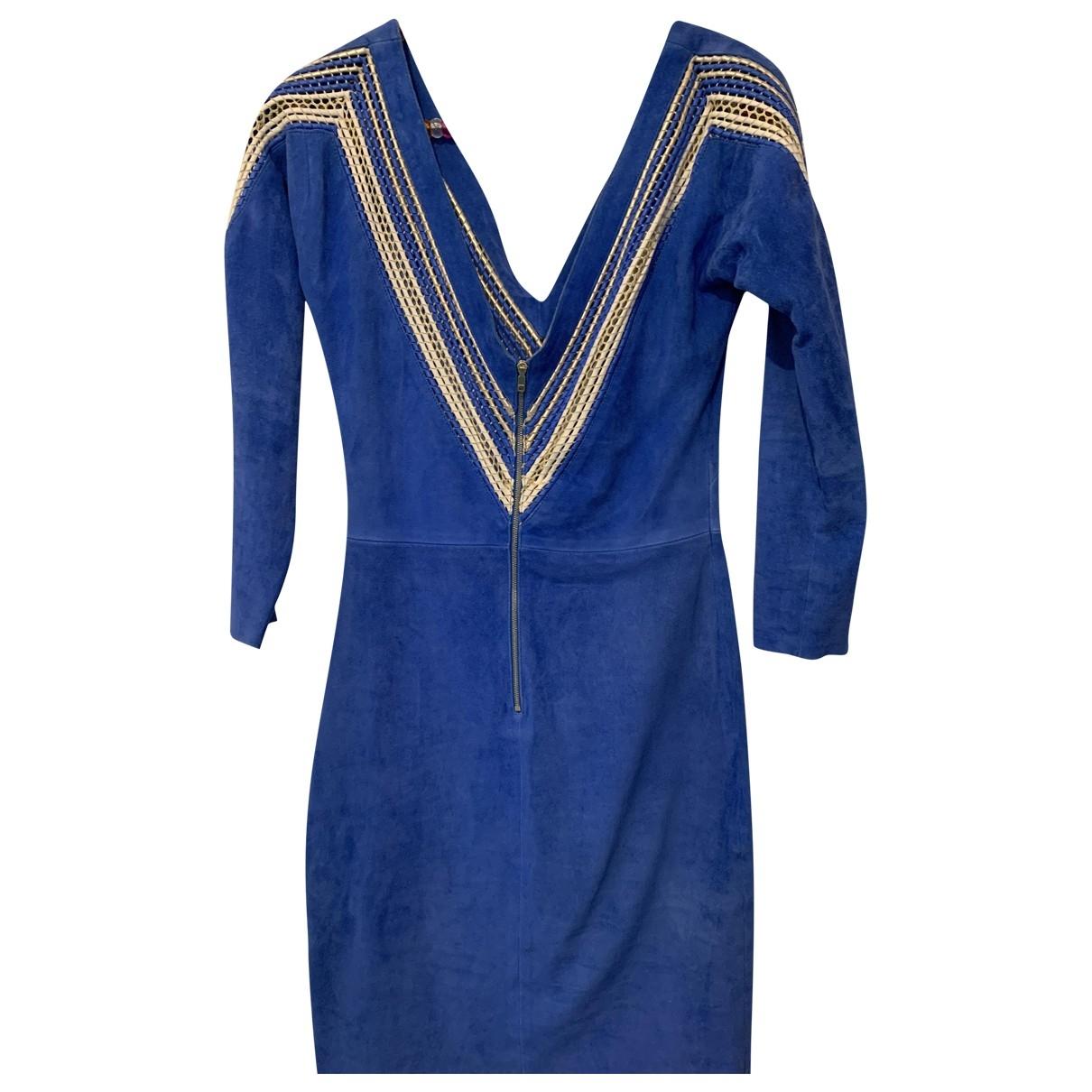 Jitrois \N Blue Cotton dress for Women 36 FR