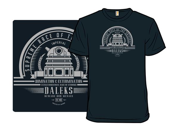 Supreme Race Domination T Shirt
