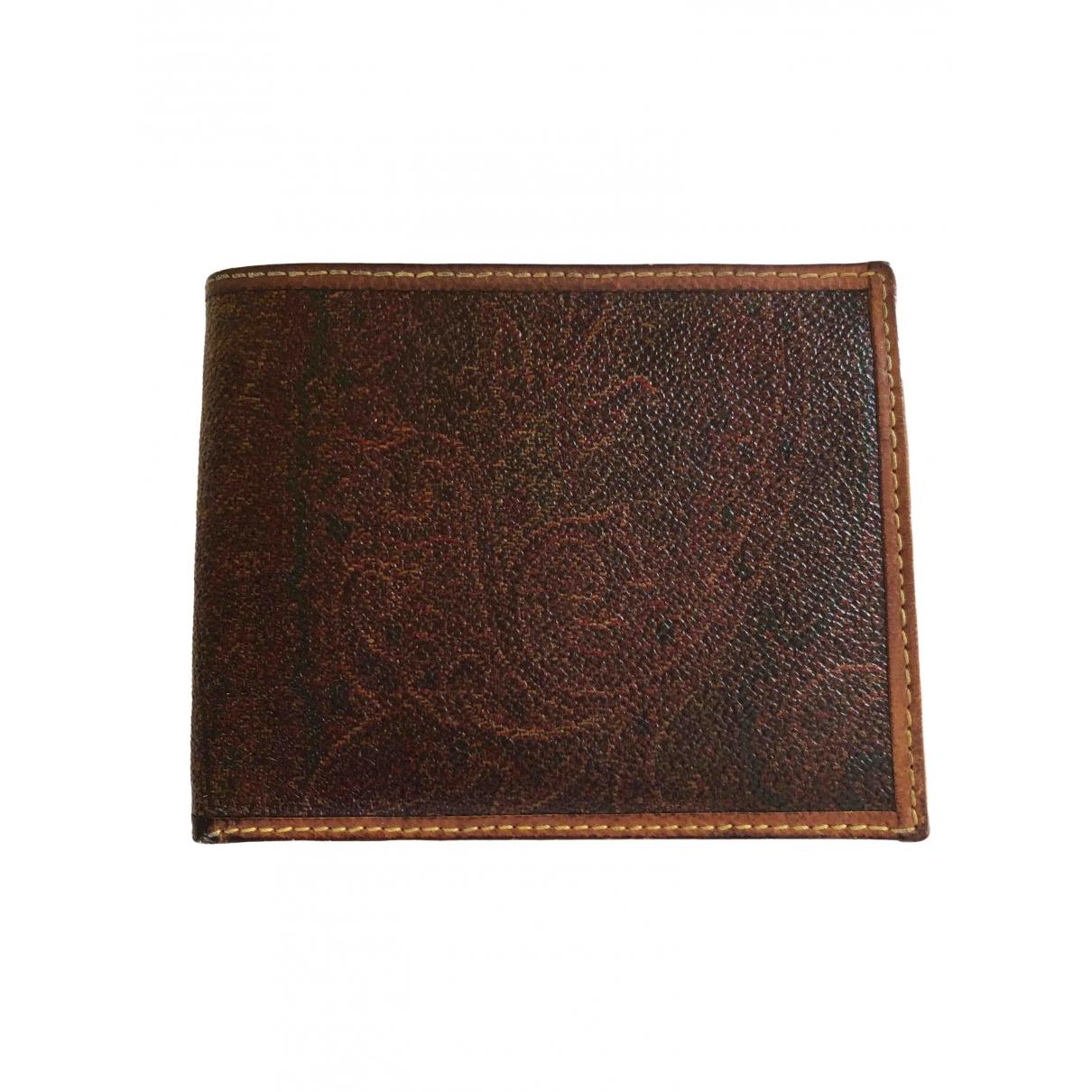 Etro \N Multicolour Leather wallet for Women \N