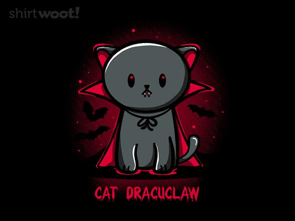 Cat Dracuclaw T Shirt