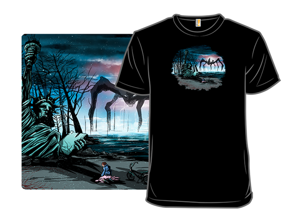 The Planet Of The Upside Down T Shirt