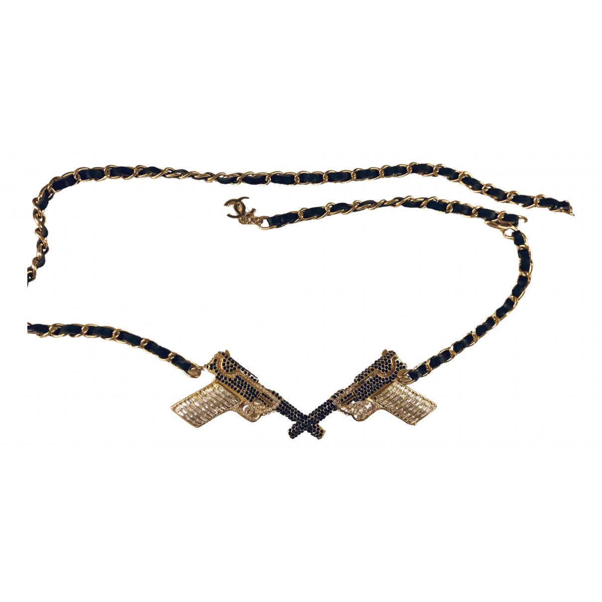 Chanel \N Gold belt for Women XXS International