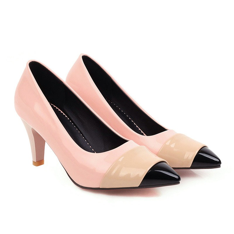 Ericdress Stiletto Heel Slip-On Pointed Toe Casual Thin Shoes