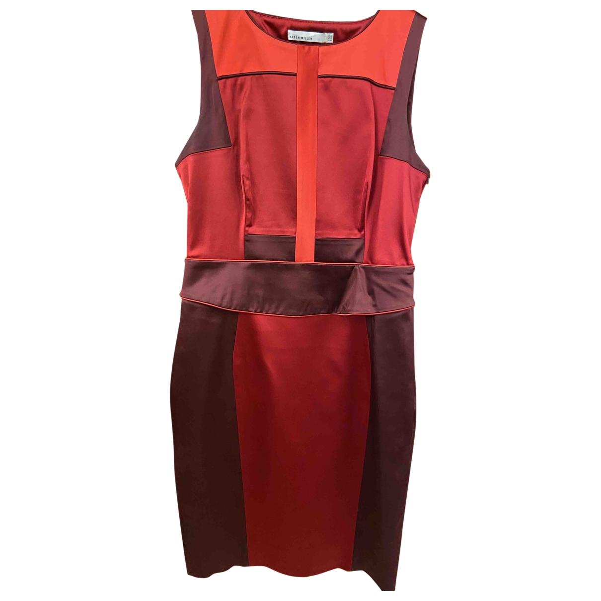 Karen Millen \N Red dress for Women 16 UK