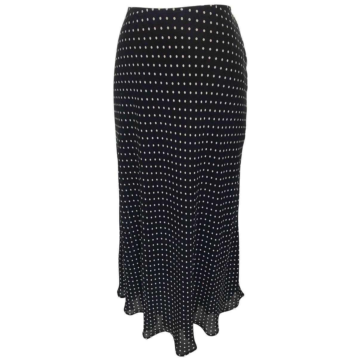 Dkny \N Blue Silk skirt for Women 10 US