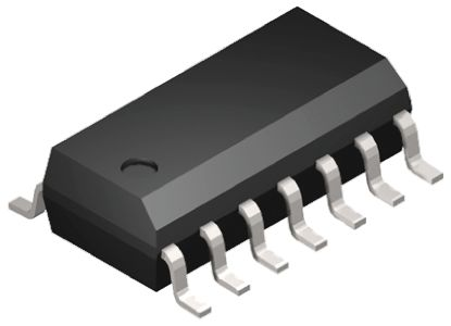 MaxLinear CLC4000ISO14 EXAR, High Current, Op Amp, 510MHz, 5 → 12 V, 14-Pin SOIC (4)