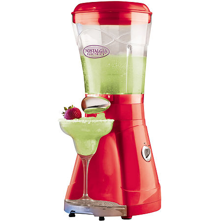 Nostalgia MSB64 64-Ounce Margarita and Slush Maker, One Size , Orange