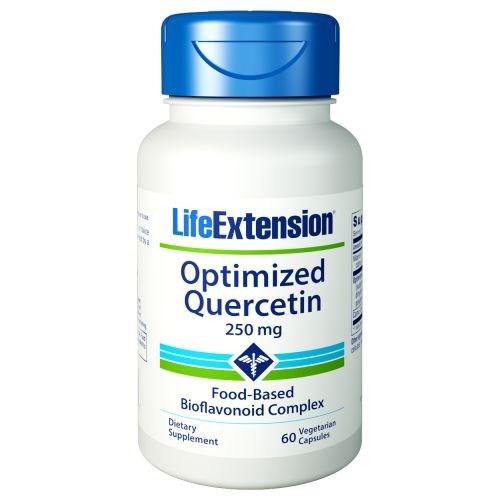 Optimized Quercetin 60 vcaps by Life Extension