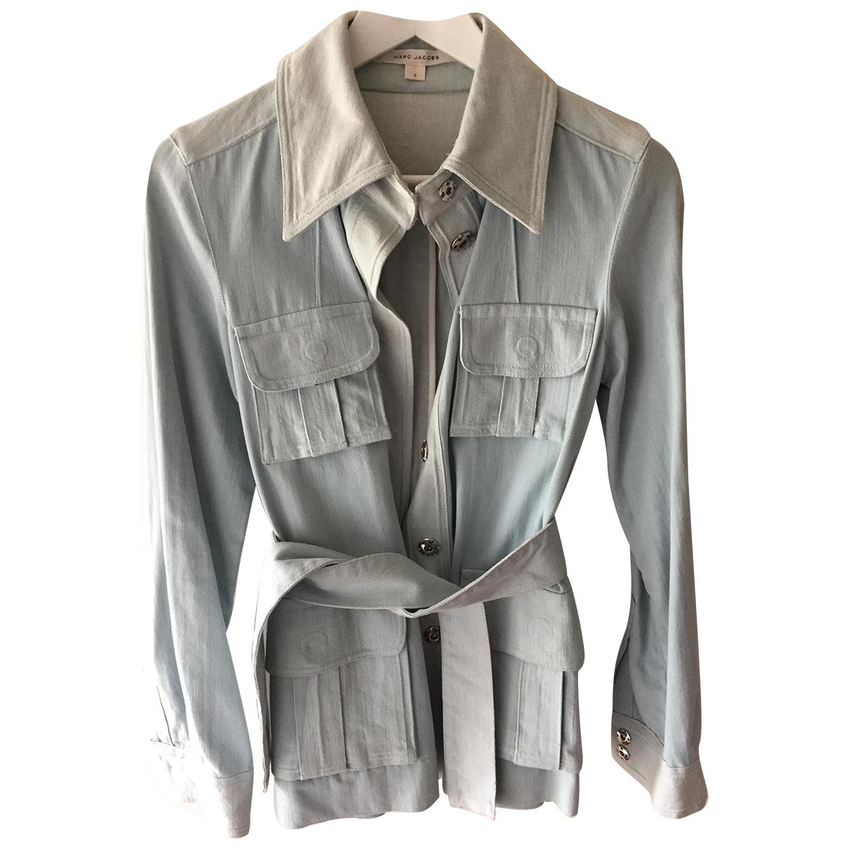 Marc Jacobs \N Blue Denim - Jeans jacket for Women 4 US