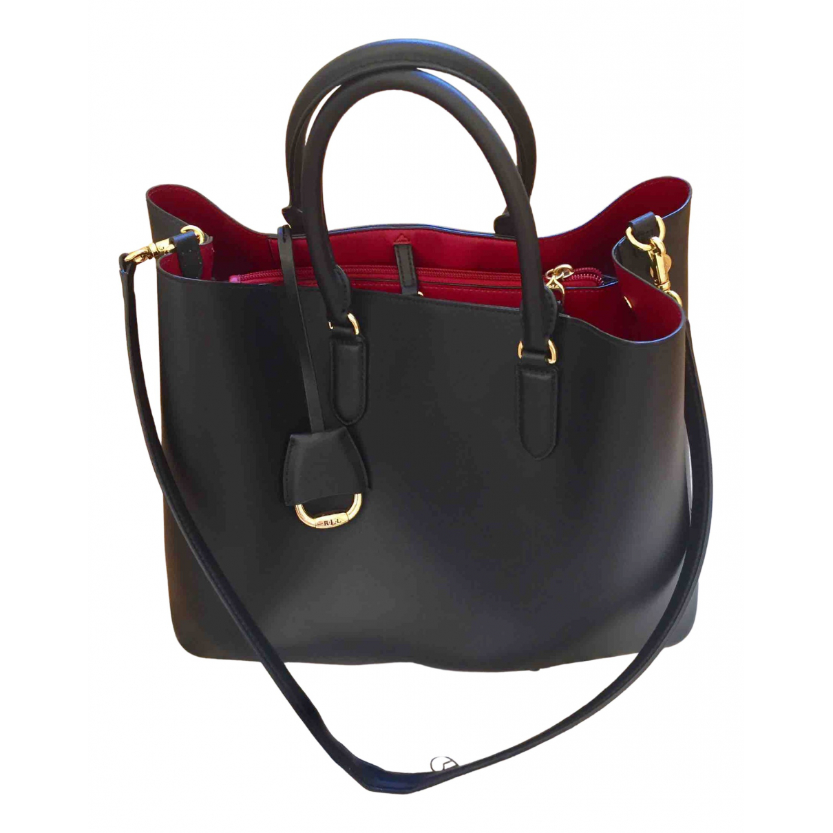Ralph Lauren \N Black Leather handbag for Women \N
