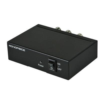 Séparateur 3G SDI 1x2 avec prise en charge SD-SDI, HD-SDI et 3G-SDI - Monoprice®