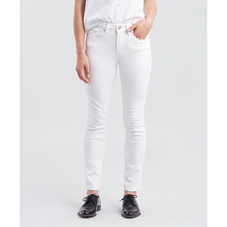 Levi's Classic Mid Rise Skinny Jean, 8 , White
