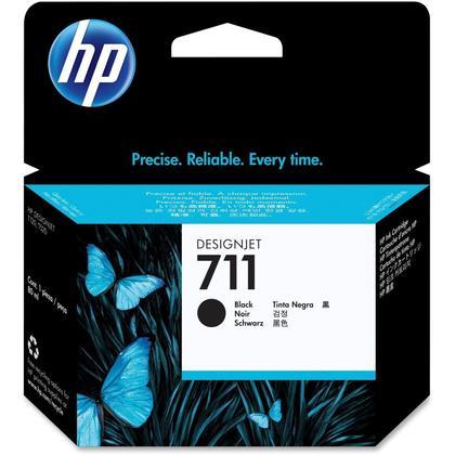 HP 711 CZ133A Original Black Ink Cartridge 80ml