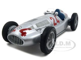 1939 Mercedes W 165 24 Grand Prix of Tripolis 1 of 5000 Produced  1/18 Diecast Car Model by CMC
