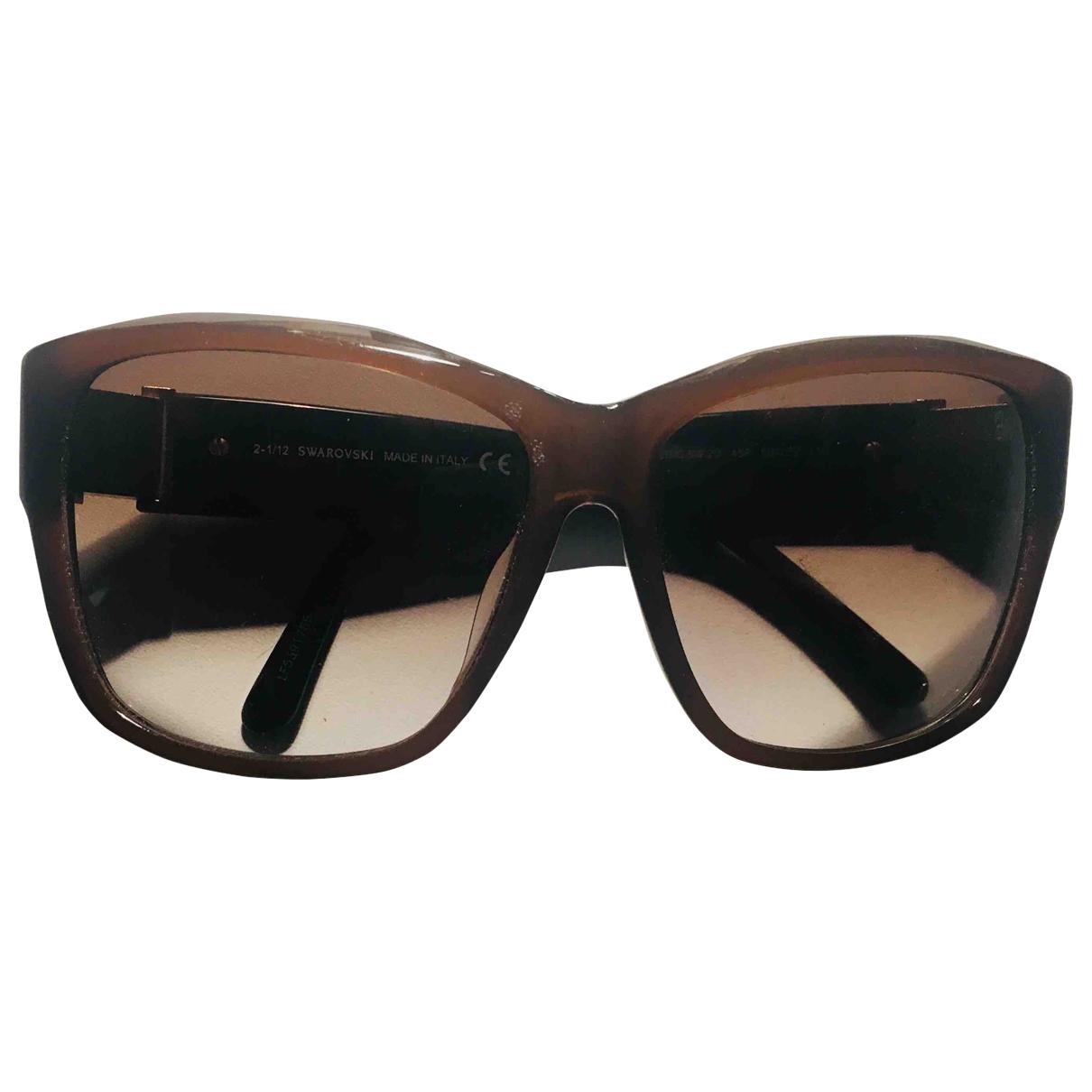 Swarovski \N Camel Sunglasses for Women \N