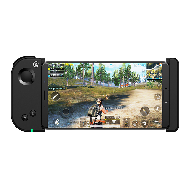 GameSir T6 Bluetooth One-handed Stretchable Game Controller For 4.5-6.7 inch Android/iOS Phones Support FPS Game -Black
