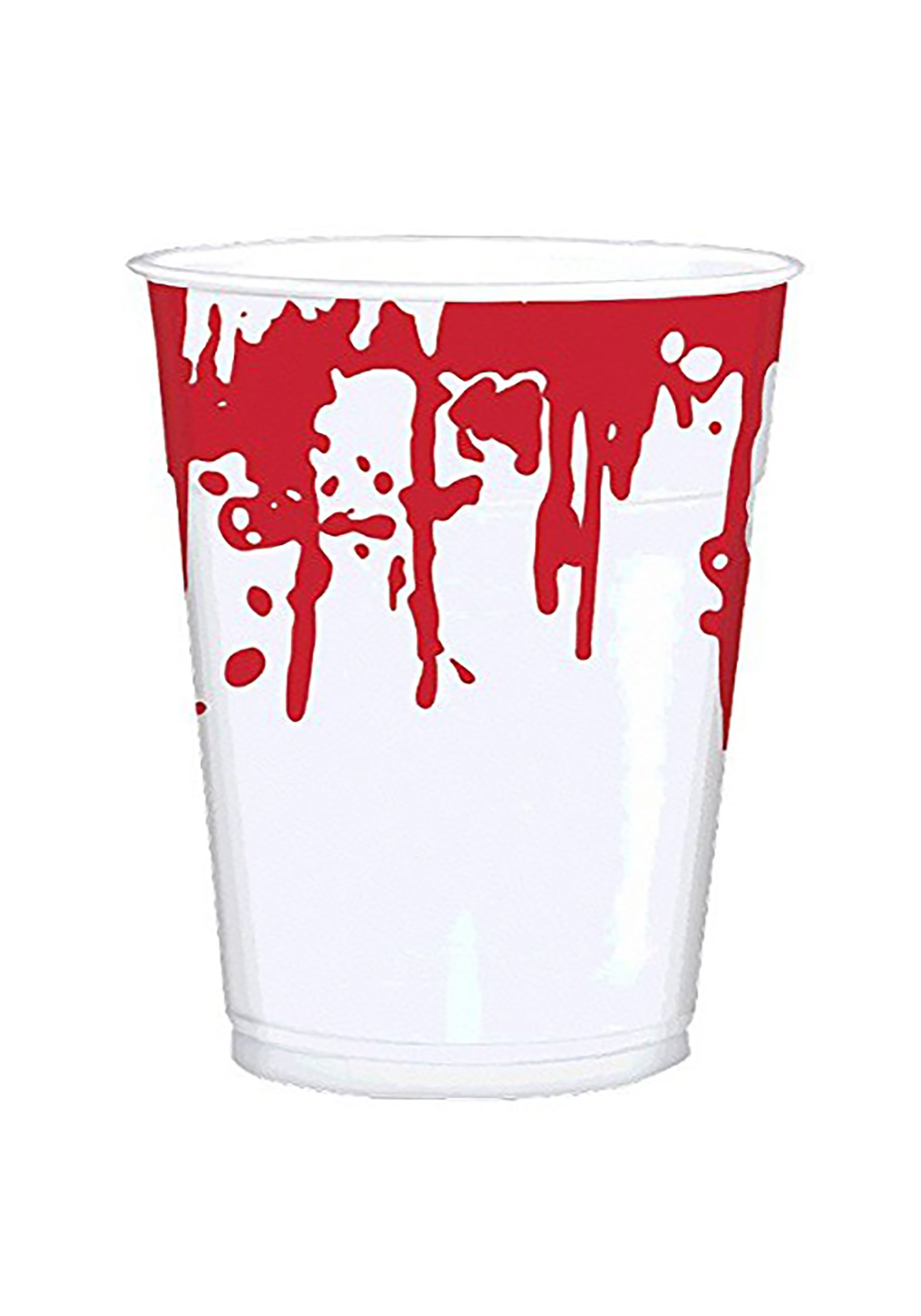 16 oz. Halloween Bloody Hand Prints Party Cups Pack of 25 Cups