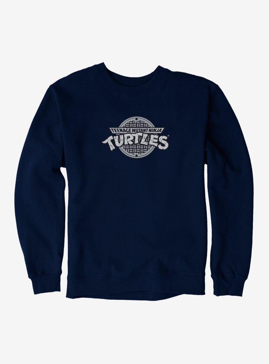 Teenage Mutant Ninja Turtles Classic Grayscale Logo Sweatshirt