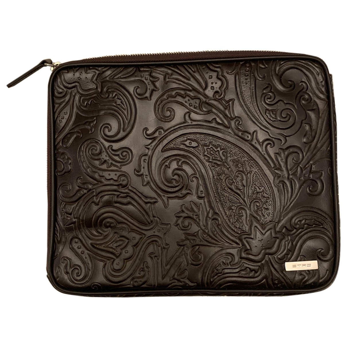 Etro \N Brown Leather Purses, wallet & cases for Women \N