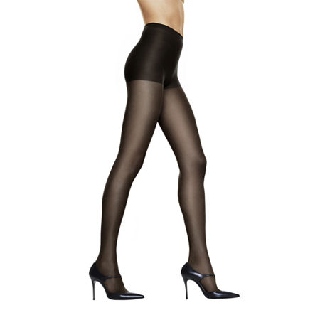 Hanes Silk Reflections Control-Top Sandalfoot Pantyhose, Plus 3 , No Color Family