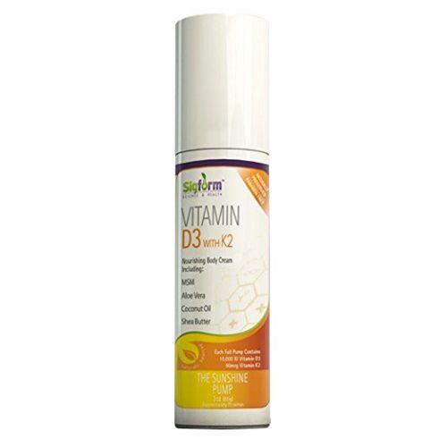 Vitamin D3 & K2 Cream 3 Oz by Sigform