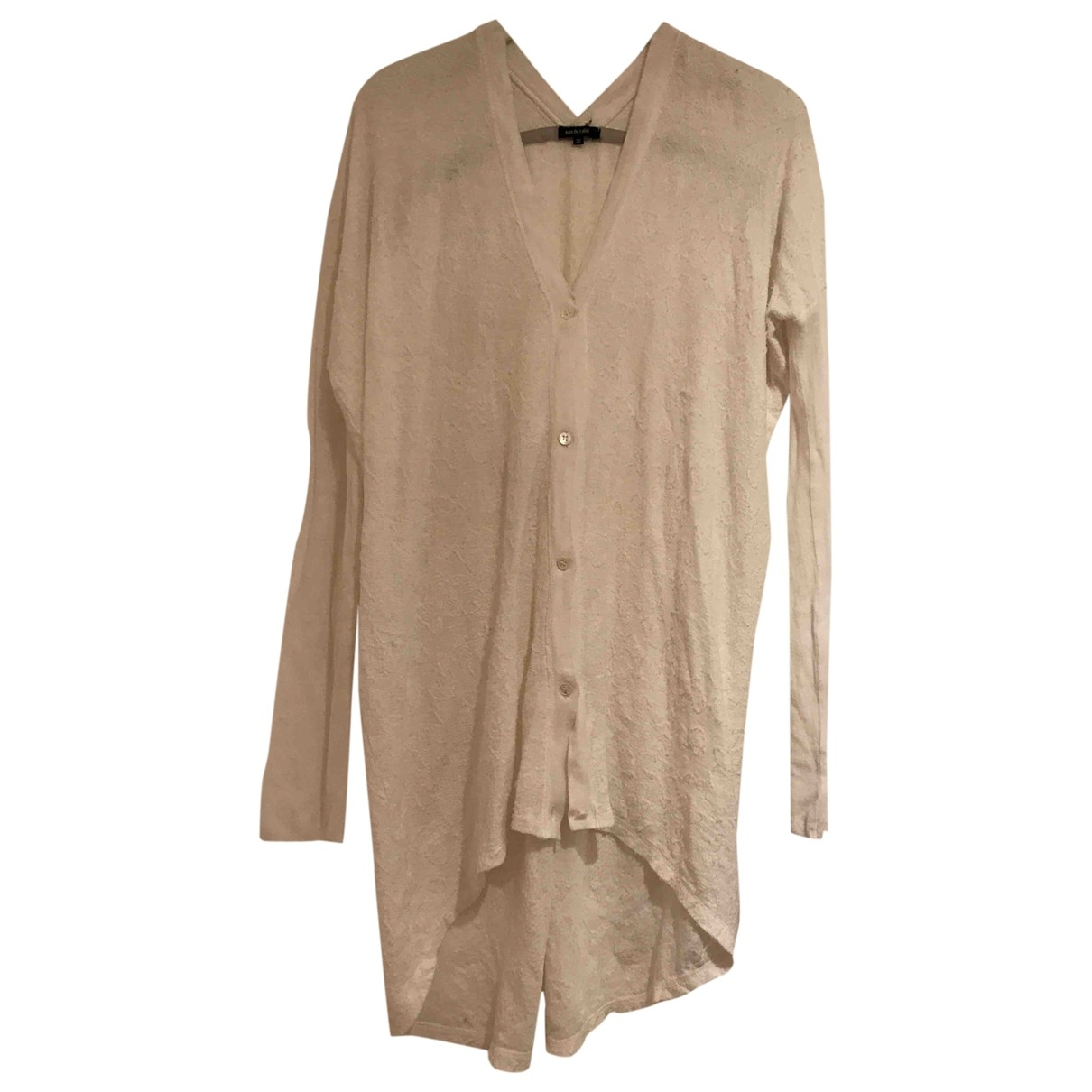 Pas De Calais \N White Cotton Knitwear for Women 36 FR