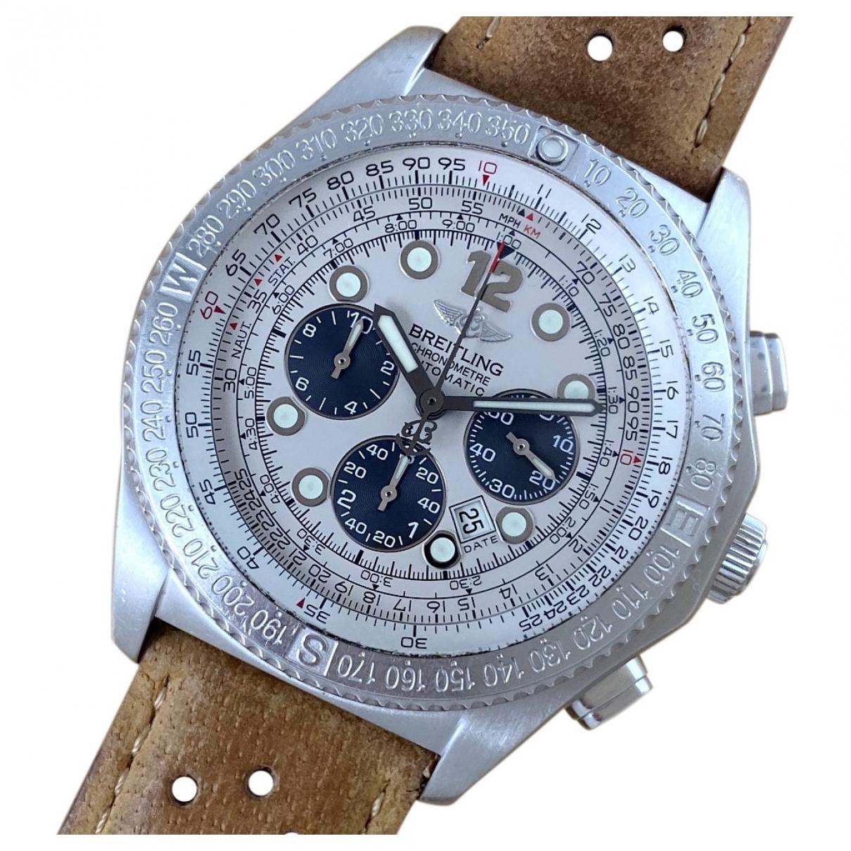 Breitling Navitimer White Steel watch for Men \N