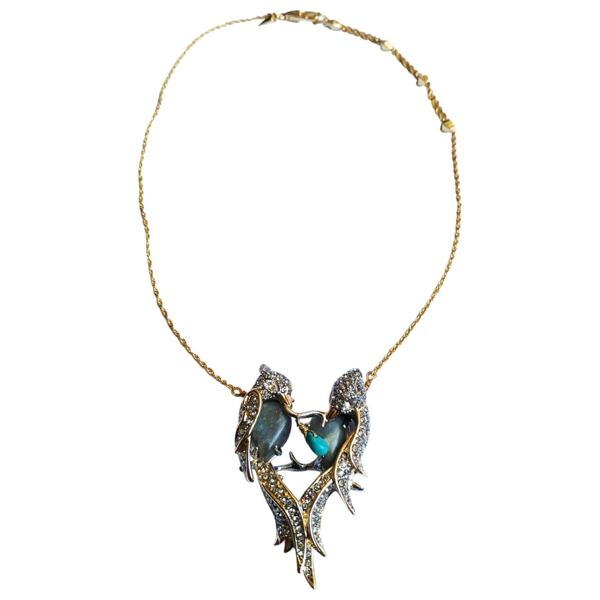 Alexis Bittar \N Gold Metal necklace for Women \N