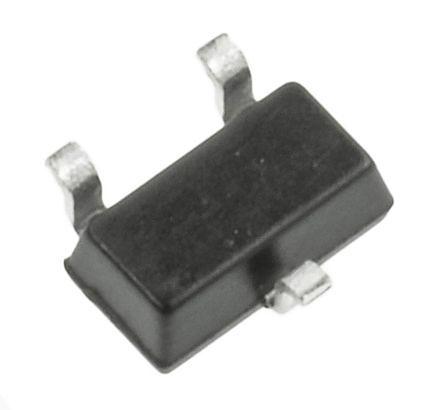 DiodesZetex Diodes Inc, 3.3V Zener Diode 6% 200 mW SMT 3-Pin SOT-323 (200)