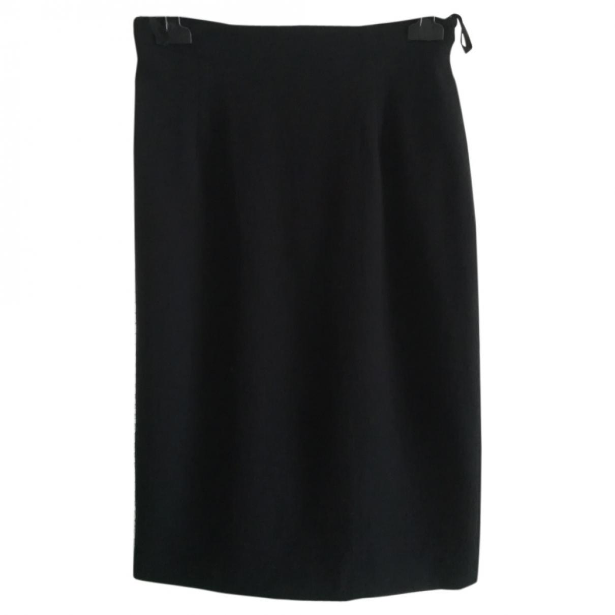 Karl Lagerfeld \N Black Wool skirt for Women 44 IT