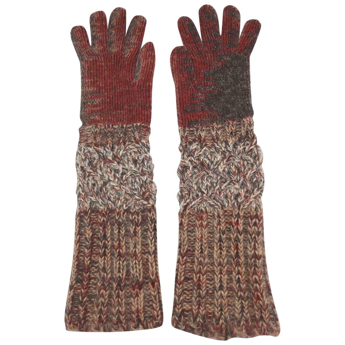 Missoni \N Multicolour Wool Gloves for Women S International