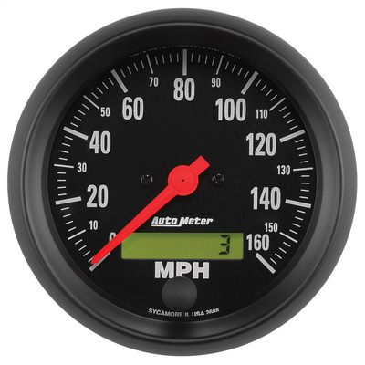 Auto Meter Z-Series; Electric Programmable Speedometer - AMG2688
