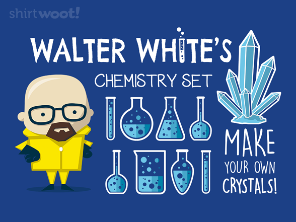 Mister White Chemistry Set T Shirt