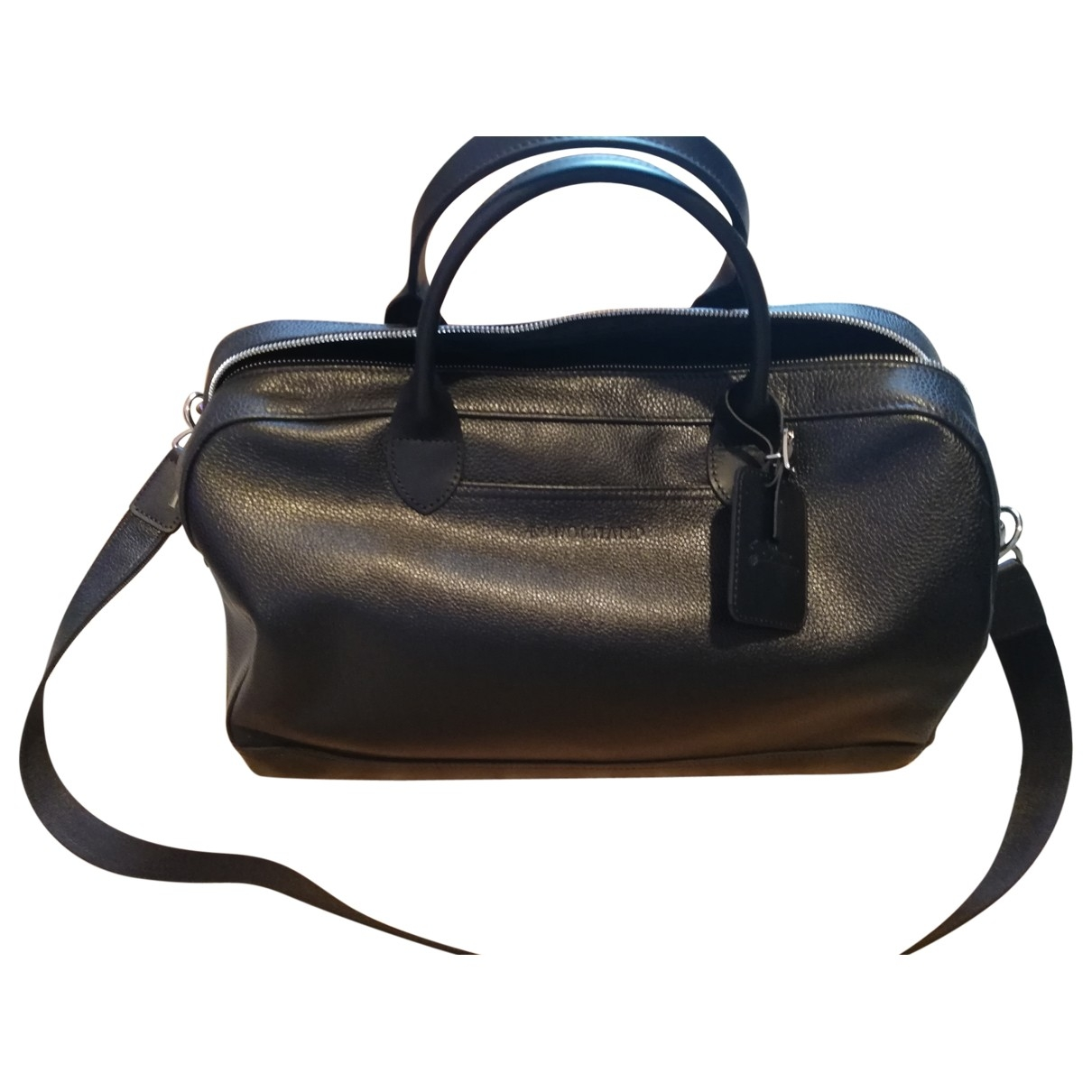 Longchamp \N Black Leather Travel bag for Women \N