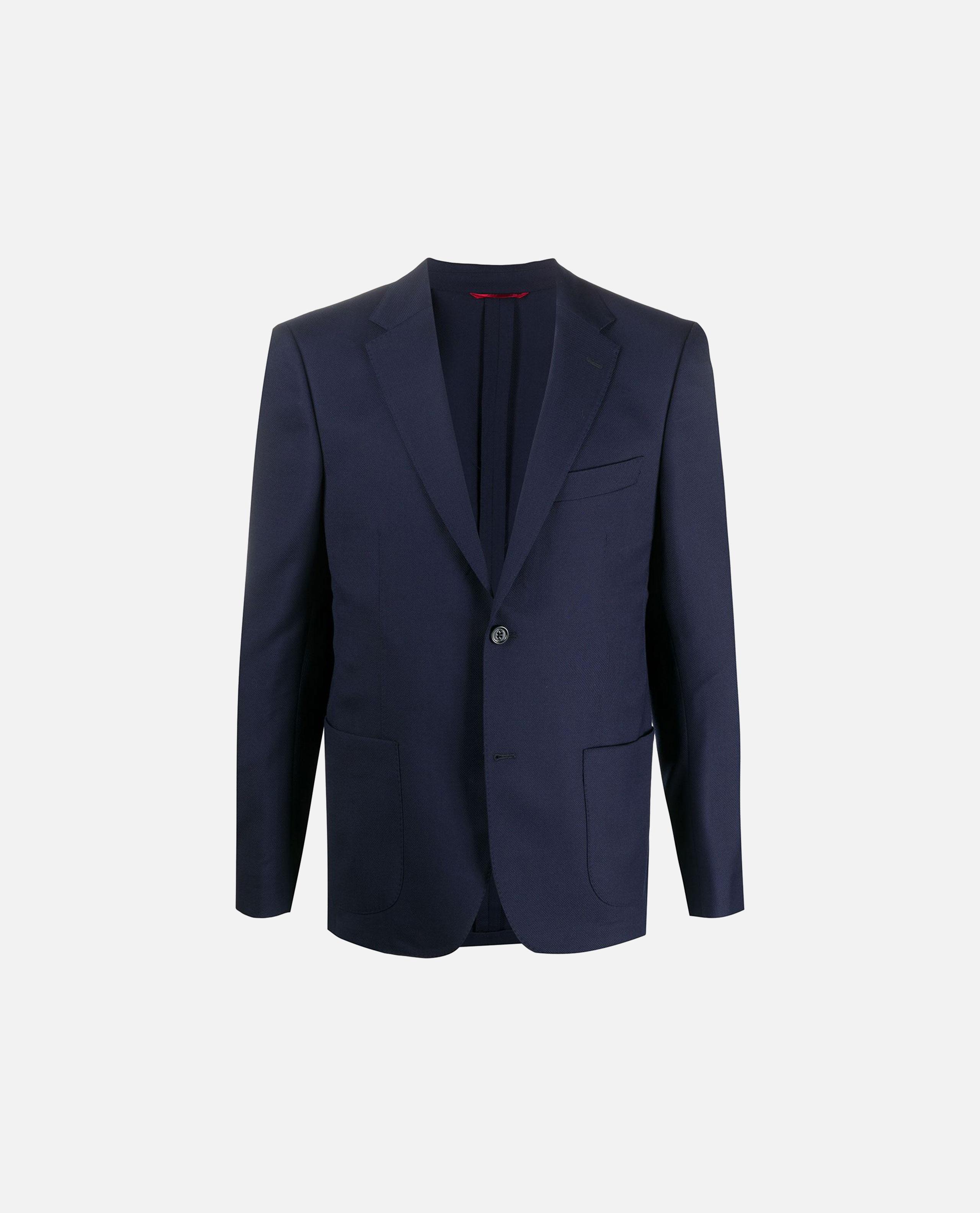 Slim-fit single-breasted blazer