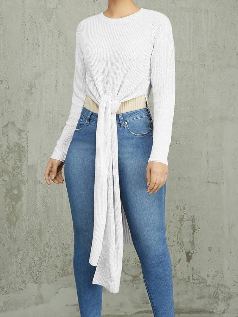 Ericdress Regular Long Sleeve Mid-Length Women's Sweater