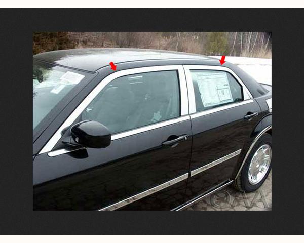 Quality Automotive Accessories 4-Piece Window Package Chrysler 300 | 300C 2007