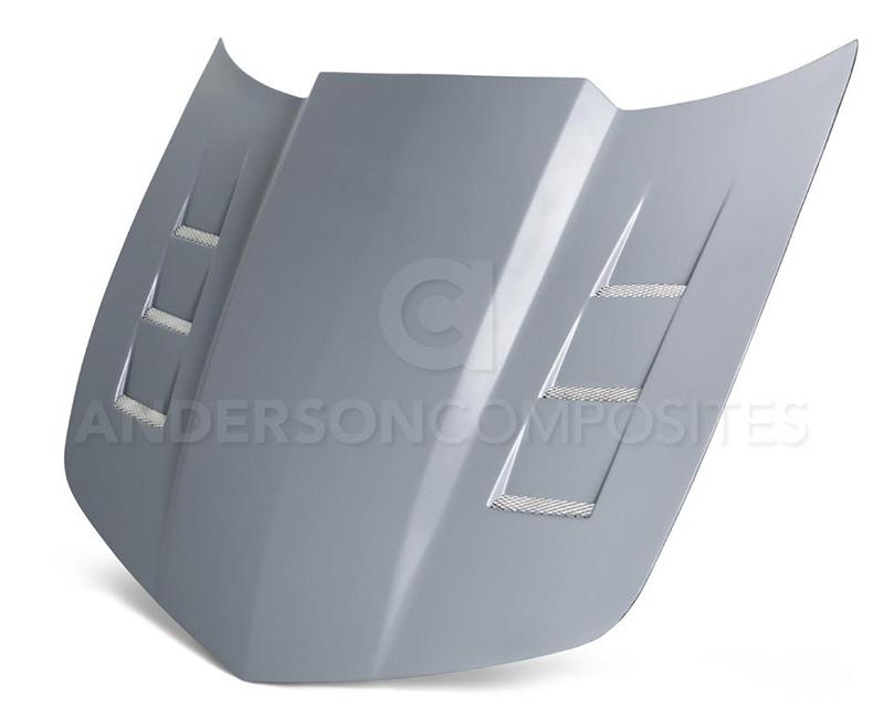 Anderson Composites AC-HD1011CHCAM-TS-GF Type-TS Fiberglass Hood Chevrolet Camaro 10-13