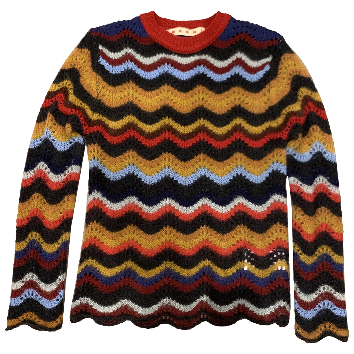 Marni \N Multicolour Wool Knitwear for Women 36 IT