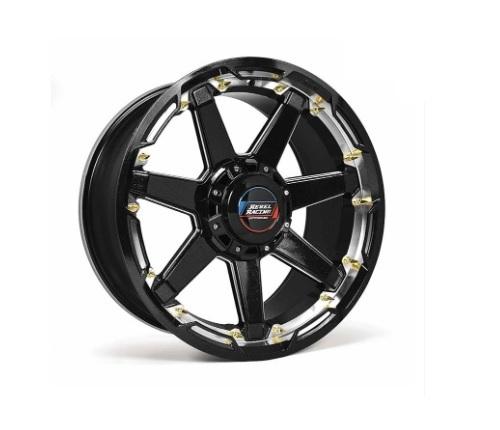 Rebel Racing Scorpion Wheel  20x9 6x135/139.7 18mm Black/Machined