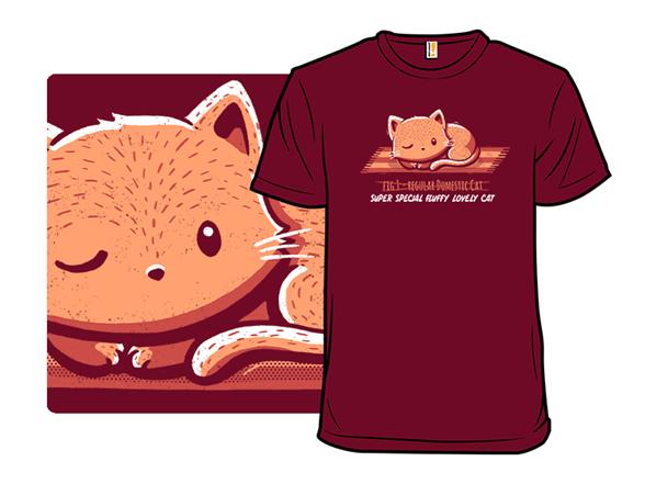 Not A Regular Cat T Shirt