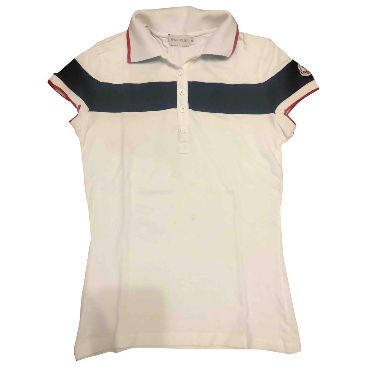Moncler \N White Cotton  top for Women M International