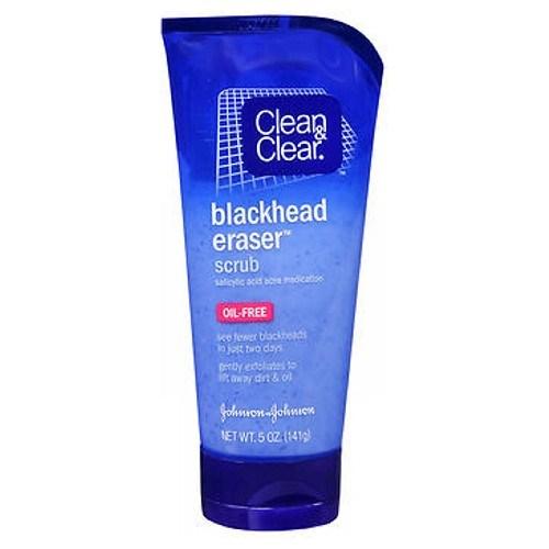 Clean & Clear Blackhead Eraser Scrub Oil-Free 5 oz by Clean & Clear