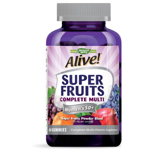 Super Fruits Women's 50+ Multi 60 Chews by Nature's Way