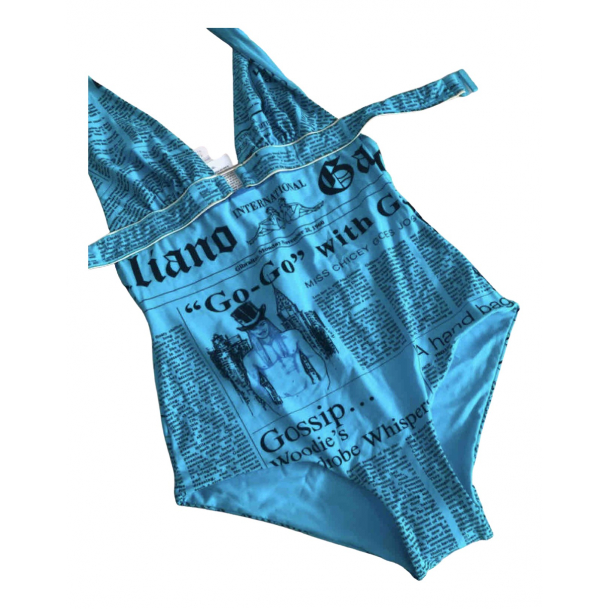 John Galliano \N Blue Swimwear for Women 40 IT