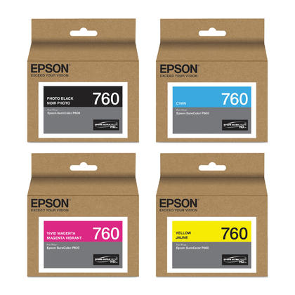 Epson 760 T760 Original Ink Cartridge Combo PBK/C/VM/Y