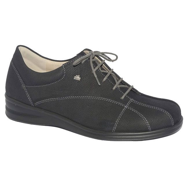 Finn Comfort Ariano Black Leather 55 Uk